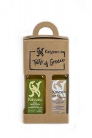 GIFT BOX- 2 OLIVE OILS FROM LESVOS