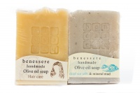 Benessere-Natural soap set for face and hair care