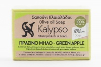 GREEN APPLE-OLIVE OIL SOAP