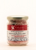 Natural sea salt with Hibiscus 200 gr