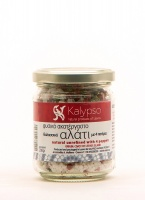 Natural sea salt with 4 peppers 200 gr